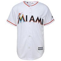Boys 8-20 Majestic Miami Marlins Replica MLB Jersey