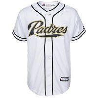 Majestic San Diego Padres Replica MLB Jersey - Boys 8-20