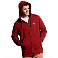 Men's Antigua New York Red Bulls Signature Full-Zip Hoodie