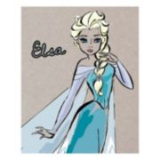 Disney's Frozen Elsa Fashionista Canvas Wall Art