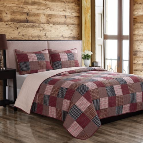 Field & Stream Country Patch Quilt Set