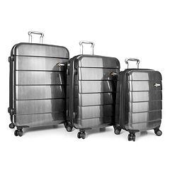 Heys Cronos Elite 3-Piece Hardside Spinner Luggage Set