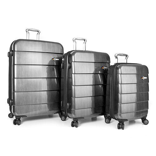 Heys Cronos Elite 3-Piece Hardside Spinner Luggage Set