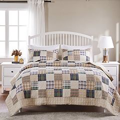 Oxford Reversible Quilt Set