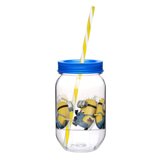 Zak Designs Despicable Me 2 19-oz. Straw Tumbler
