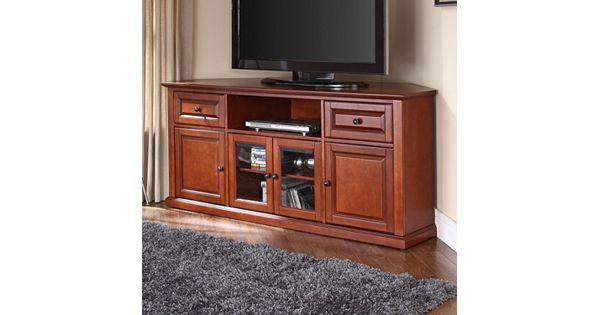 Jsp Furniture: Crosley Furniture Corner TV Stand