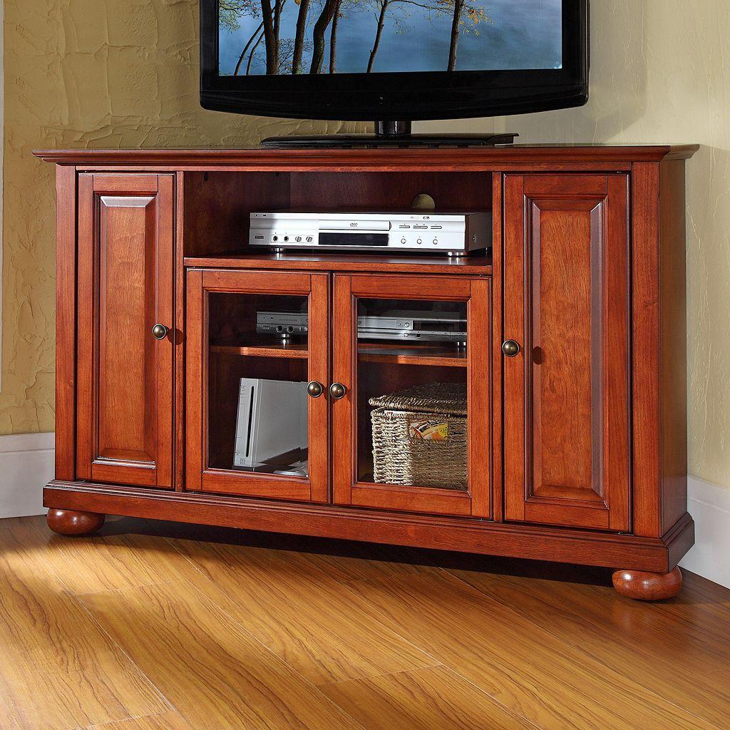 Crosley Furniture Alexandria Corner TV Stand