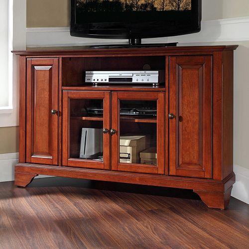 Jsp Furniture: Crosley Furniture LaFayette Corner TV Stand