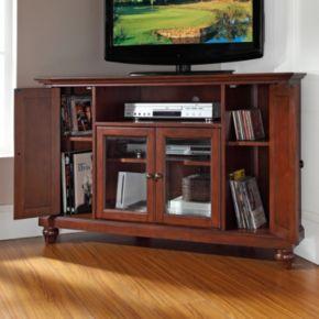 Crosley Furniture Cambridge Corner Tv Stand Null