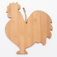 Food Network™ Bamboo Rooster Serving Board
