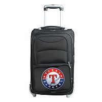 Texas Rangers 20.5-inch Wheeled Carry-On