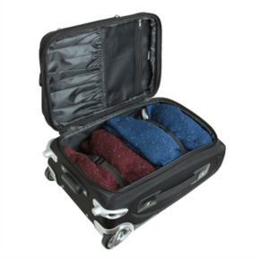 Milwaukee Bucks 20.5-inch Wheeled Carry-On