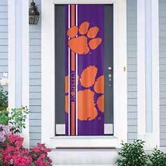 Clemson Tigers Door Banner