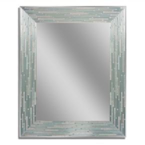 Head West Reeded Wall Mirror