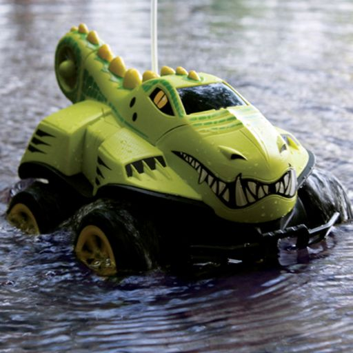 Kid Galaxy Mega Morphibians Crocodile Remote Control Vehicle