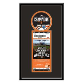 San Francisco Giants 2014 World Series Champions Single Ticket Frame