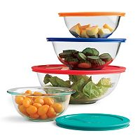 Pyrex Smart Essentials 8 pc Storage Bowl Set