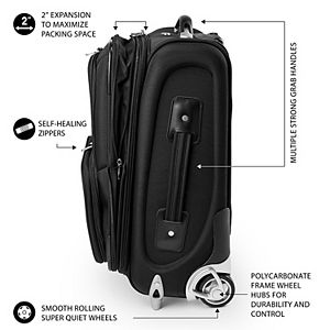 New York Rangers 20.5-inch Wheeled Carry-On