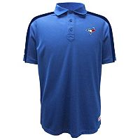 Men's Stitches Toronto Blue Jays Waffle Polo