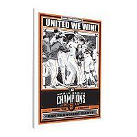 San Francisco Giants 2014 World Series Champion LE Canvas Print By Sports Propaganda