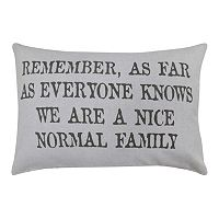 Park B. Smith ''Normal Family'' Throw Pillow