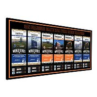 San Francisco Giants 2014 World Series Tickets To History Canvas Print