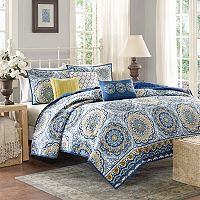 Madison Park Moraga 6 pc Quilt Set
