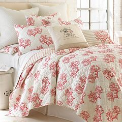 Belize Coral Quilt Set