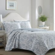 Laura Ashley Lifestyles Amberley Quilt Set
