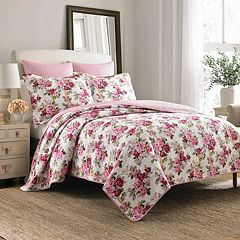 Laura Ashley Lifestyles Lidia Quilt Set