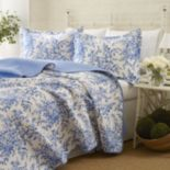 Laura Ashley Lifestyles Bedford Quilt Set
