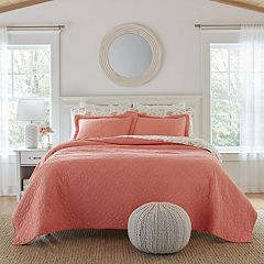 Laura Ashley Lifestyles Solid Circles Quilt Set