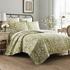 Laura Ashley Lifestyles Rowland Quilt Set