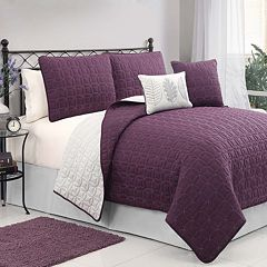 VCNY Hayden 5 pc Quilt Set