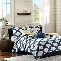 Madison Park Montego Blue 6-piece Quilted Coverlet Set