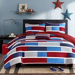Mi Zone Nicholas Reversible Quilt Set