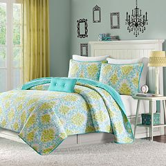 Mi Zone Paige Reversible Quilt Set