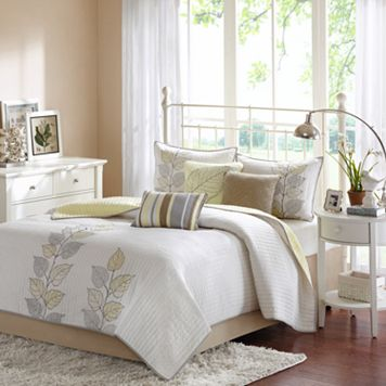 Madison Park Rochelle 6-pc. Coverlet Set