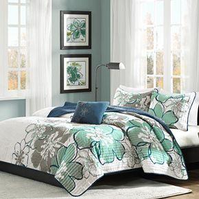 Mi Zone Skylar Reversible Quilt Set