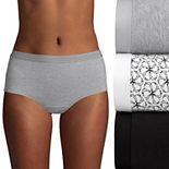 Women's Hanes Ultimate® 3-pack ComfortBlend Stretch X-Temp Briefs