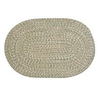 Colonial Mills Brownstone Braided Reversible Rug