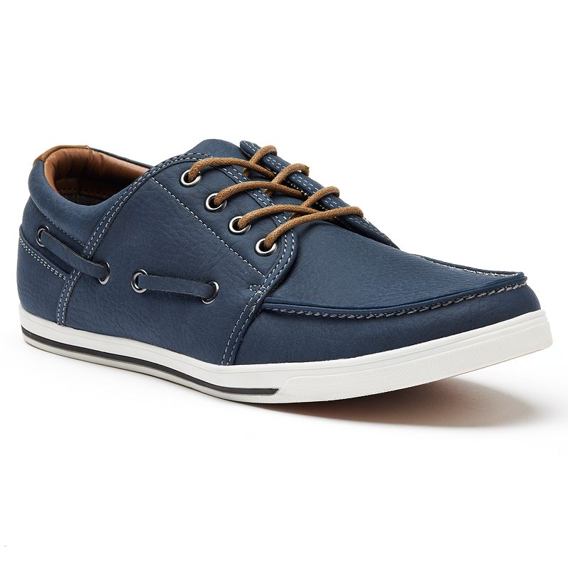 Browse men's boat shoes, loafers and more comfortable styles or try a pair of casual shoes that double as dress shoes. The range of casual men's shoe options available gives you the chance to be selective.