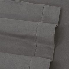 Luxury Flannel Hemstitched Solid Deep-Pocket Sheets