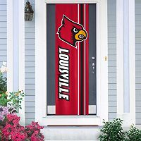 Louisville Cardinals Door Banner