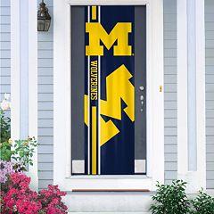 Michigan Wolverines Door Banner