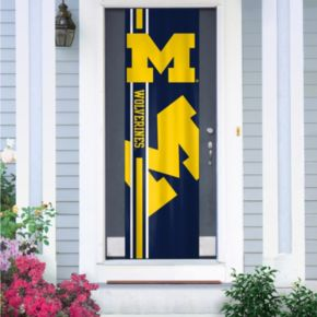 Michigan Wolverines Door Banner