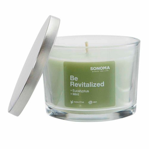 SONOMA Goods for Life™ ''Be Revitalized'' 4.8-ounce Jar Candle