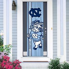 North Carolina Tar Heels Door Banner