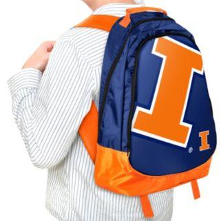 Illinois Fighting Illini Core Structured Backpack