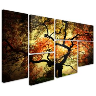 """Japanese"" 6-piece Canvas Wall Art Set"